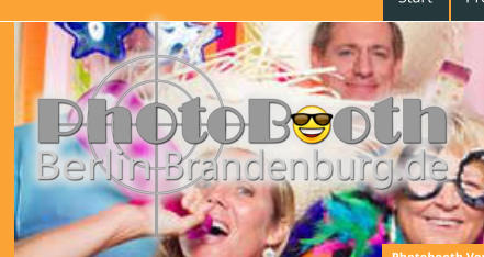 Photobooth Berlin Brandenburg, das Logo.